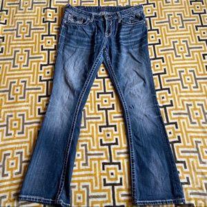 Vigoss Slim Bootcut Pants 32X33 Womens Jeans